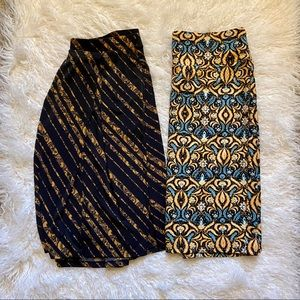 LuLaRoe Skirts Bundle- Madison & Cassie